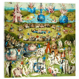 Acrylglas print  The Garden of Earthly Delights - Hieronymus Bosch