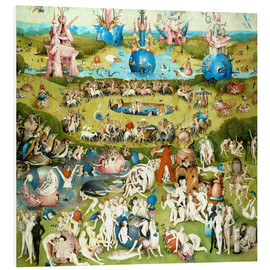 PVC print  The Garden of Earthly Delights - Hieronymus Bosch
