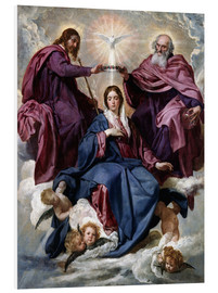 PVC print  Coronation of the Virgin - Diego Rodriguez de Silva y Velazquez