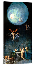Acrylglas print  The Ascent to the Heavenly Paradise - Hieronymus Bosch