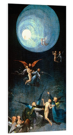 PVC print  The Ascent to the Heavenly Paradise - Hieronymus Bosch