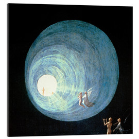 Acrylglas print  The Ascent to the Heavenly Paradise (detail) - Hieronymus Bosch