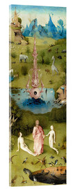 Acrylglas print  Garden of Earthly Delights, the paradise - Hieronymus Bosch