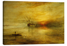 Canvas print  Fort Vimieux - Joseph Mallord William Turner