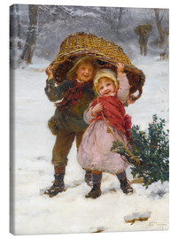 Canvas print  Christmas time - Frederick Morgan