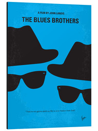 Aluminium print  The Blues Brothers - chungkong