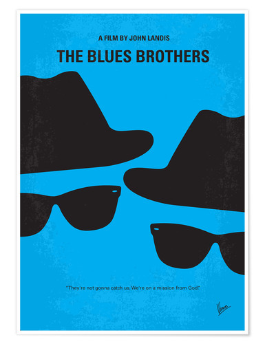 Premium poster The Blues Brothers