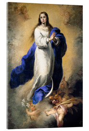 Acrylglas print  The Immaculate Conception - Bartolome Esteban Murillo