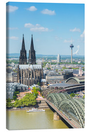 Canvas print  Cologne Cathedral (Cathedral of St. Peter) - rclassen