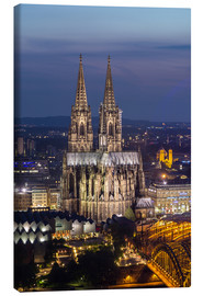 Canvas print  cathedral of cologne - rclassen