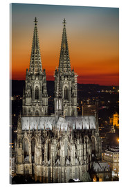 Acrylglas print  cathedral of cologne - rclassen