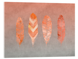 Acrylglas print  Feathers - Andrea Haase