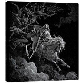 Canvas print  The Vision of Death - Gustave Doré