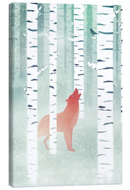 Canvas print  winter fox - Sybille Sterk