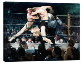 Canvas print  Stag at Sharkey's - George Wesley Bellows