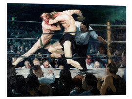 PVC print  Stag at Sharkey's - George Wesley Bellows