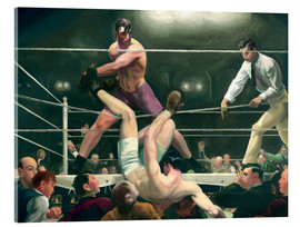 Acrylglas print  Dempsey and Firpo - George Wesley Bellows