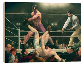Hout print  Dempsey and Firpo - George Wesley Bellows