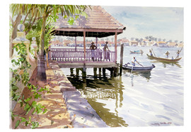 Acrylglas print  The Jetty, Cochin - Lucy Willis
