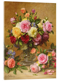 Acrylglas print  Victorian Roses - Albert Williams