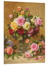 PVC print  Victorian Roses - Albert Williams