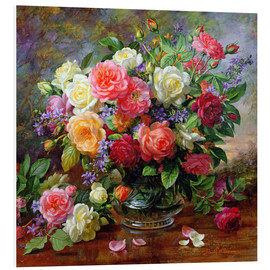 PVC print  Roses - the perfection of summer - Albert Williams