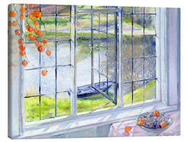 Canvas print  View of the boat - Timothy Easton