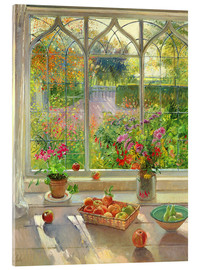 Acrylglas print  Overlooking the garden - Timothy Easton