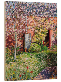 Hout print  Under the Magnolia - Tilly Willis