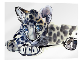 Acrylglas print  Little Leopard - Mark Adlington