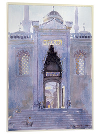 Acrylglas print  Gateway to The Blue Mosque - Lucy Willis