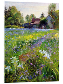 Acrylglas print  Cottage in the country - Timothy Easton