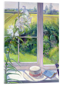 Acrylglas print  Reading corner in the window, detail - Timothy Easton