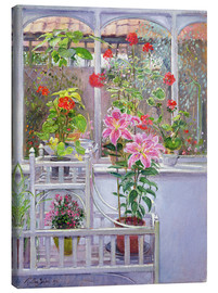 Canvas print  In the winter garden - Timothy Easton