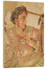 Hout print  Alexander the Great - Roman
