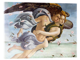 Acrylglas print  Birth of Venus, Angels - Sandro Botticelli