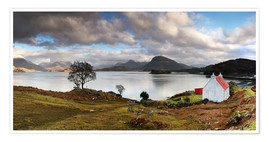 Premium poster  Upper Loch Trridon, Scotland - Martina Cross