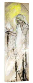 Acrylglas print  Study for The Lily - Alfons Mucha