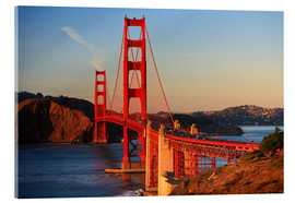 Acrylglas print  Golden Gate Bridge - Stuart Westmorland