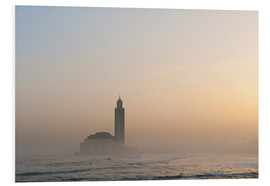 PVC print  Mosque of Casablanca - Ian Cuming