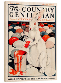 Hout print  Cover of Country (White Rabbit) - Remsberg