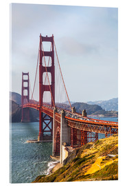 Acrylglas print  Golden Gate Bridge in San Francisco - Leah Bignell