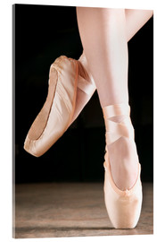 Acrylglas print  Ballet Dancer En Pointe - Don Hammond