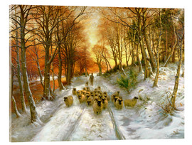 Acrylglas print  Glowed with Tints of Evening Hours - Joseph Farquharson