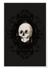 Premium poster All is vanity (Baroque Frame)
