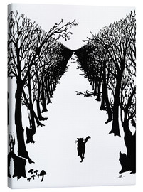 Canvas print  The cat who went for a walk with himself - Rudyard Kipling