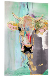 Acrylglas print  Cow collage - GreenNest