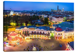 Canvas print  View from the Vienna Giant Ferris Wheel on the Prater - Benjamin Butschell