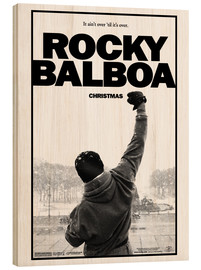 Hout print  Rocky Balboa - Entertainment Collection