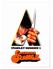 Premium poster A Clockwork Orange